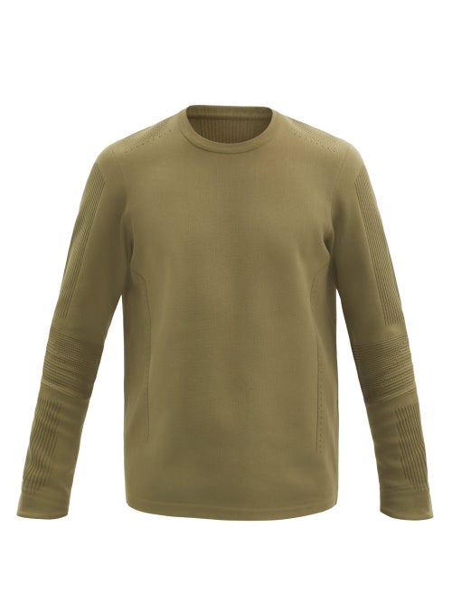 Descente Allterrain - Capsule Technical-knit Sweater - Mens - Khaki