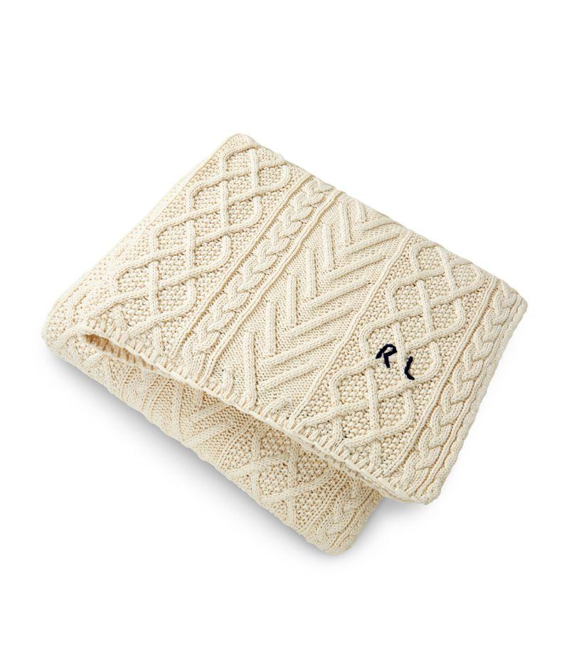 Ralph Lauren Home Highland Knitted Blanket (140Cm X 180Cm)