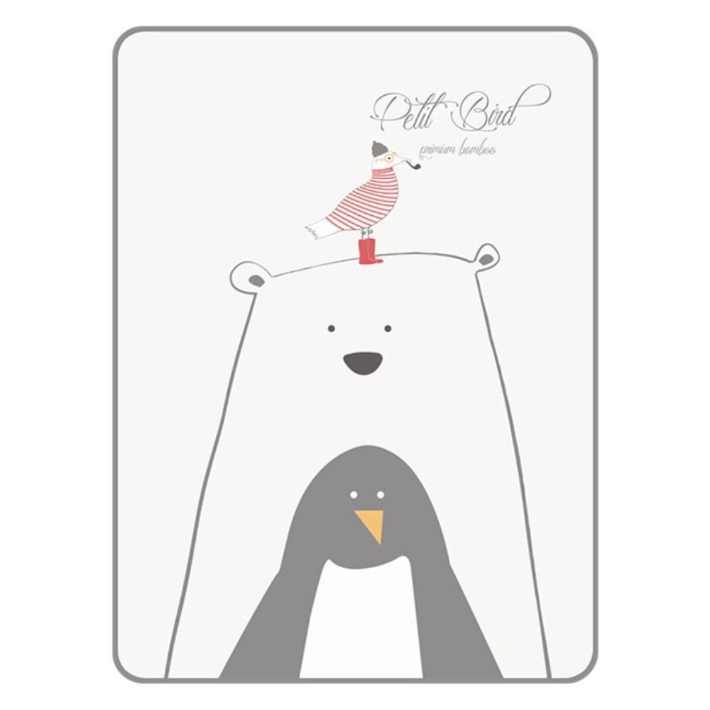 韓國 petit bird透氣竹纖抗菌防水尿布墊(小)-熊寶貝與好朋友