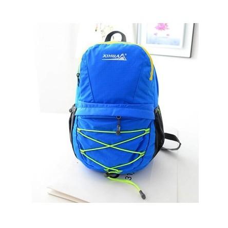 折疊式雙肩包/後背包/登山包(顏色:綠/黑/藍/紅/玫紅/橙色)