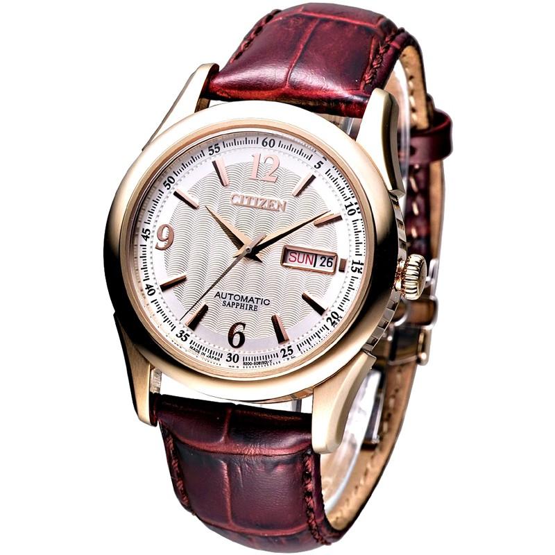 CITIZEN星辰 手錶 NH8316-06A 時尚都會潮男自動機械腕錶 日本製保固二年 廠商直送