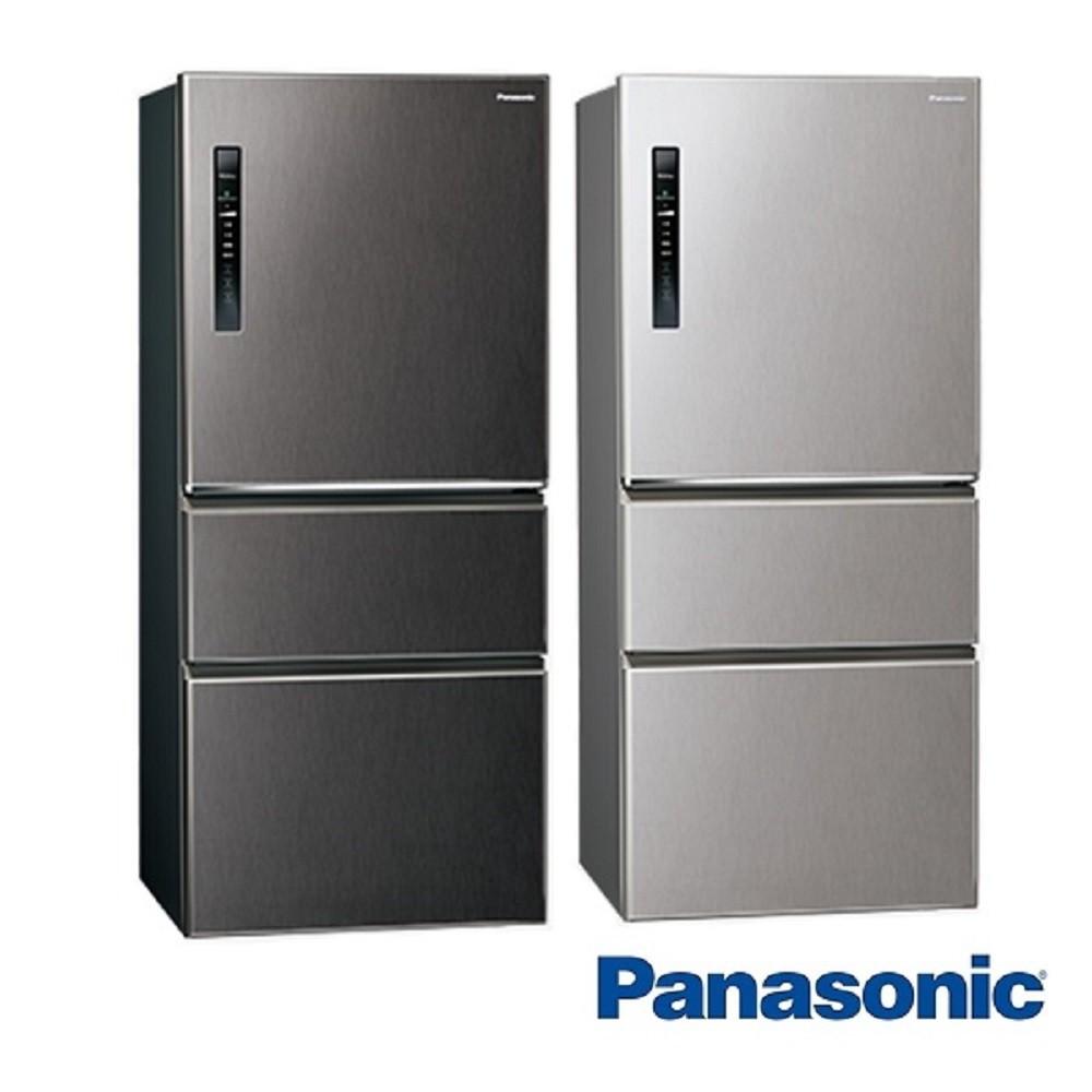 Panasonic國際牌ECONAVI 610L三門一級能效變頻電冰箱全平面無邊框鋼板 NR-C611XV 含基本安裝
