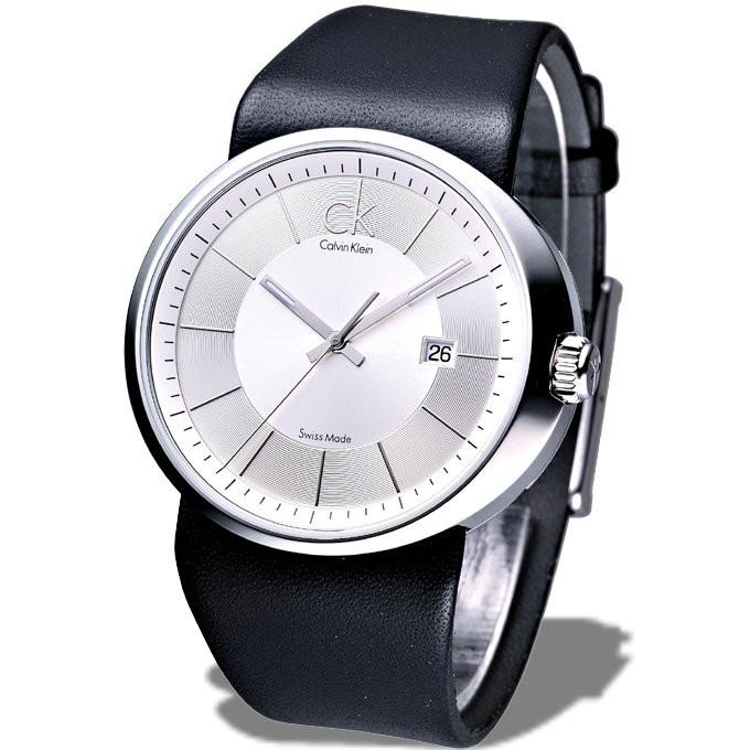 ck 卡文克萊手錶 K0H21120 時尚個性腕錶(銀白) 瑞士製保固二年 廠商直送