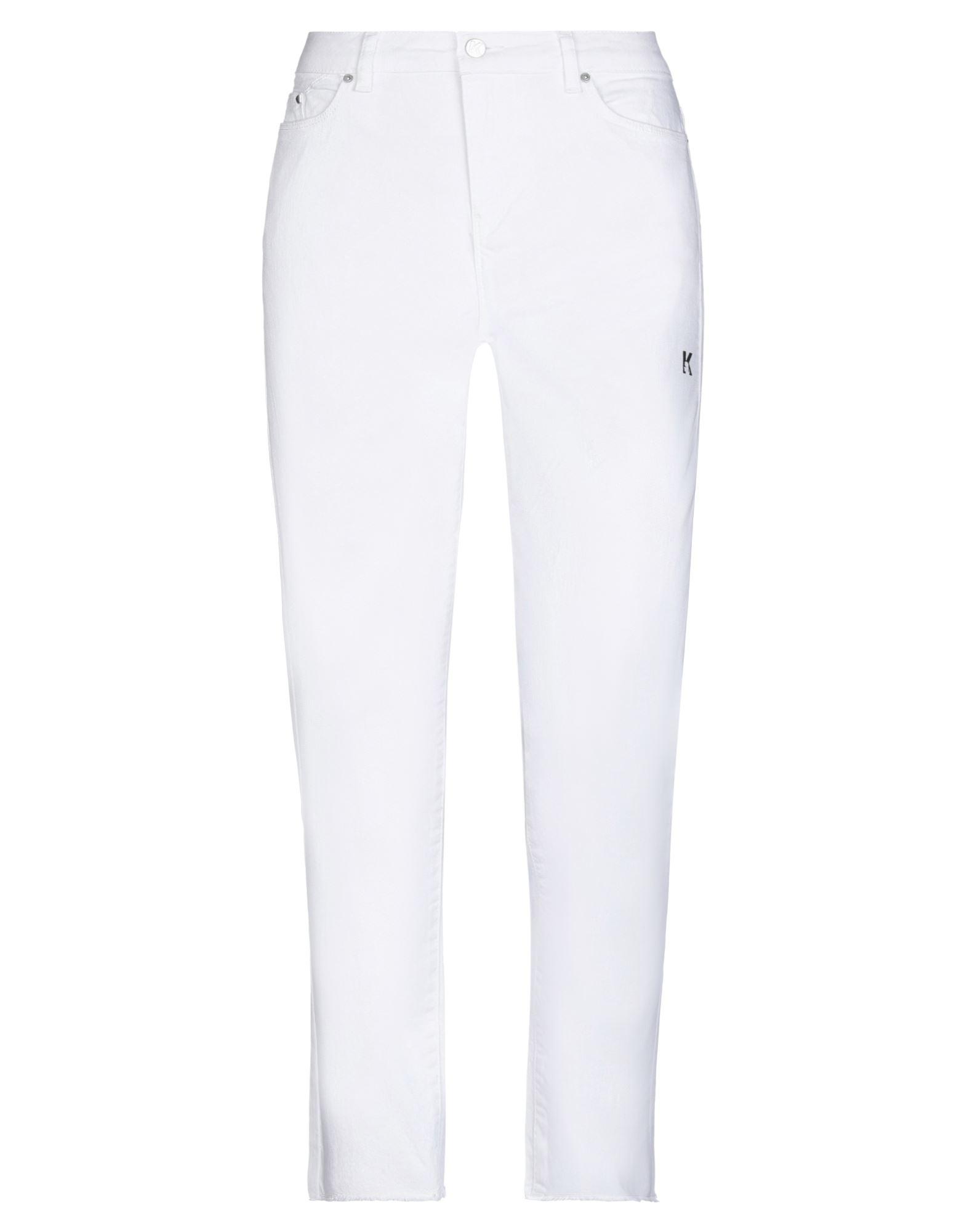 KARL LAGERFELD Denim pants - Item 42823480