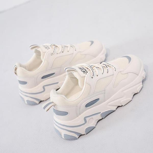 運動鞋女2020新款秋冬季加絨加棉跑步學生百搭休閒老爹鞋ins潮 後街五號