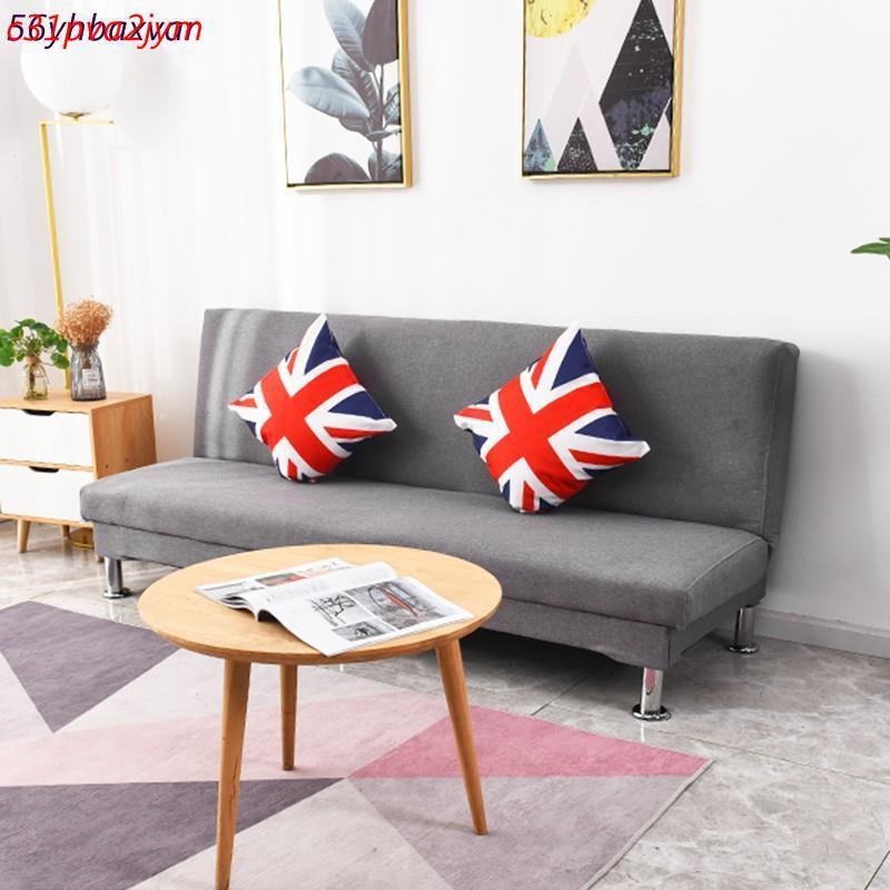 可貨到付款沙發出租房可折疊懶人沙發床小戶型客廳臥室兩用雙人三人簡易沙發