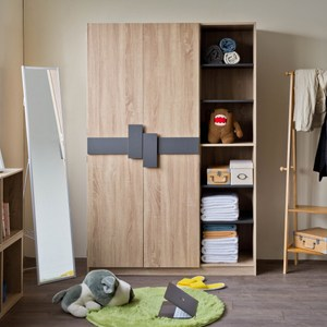 【TZUMii】優奇大容量二門六格衣櫥