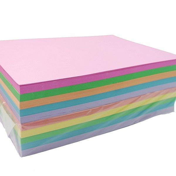 A4 影印紙 80磅 彩色影印紙 (淺色系)/一包500張入(促300)-萬
