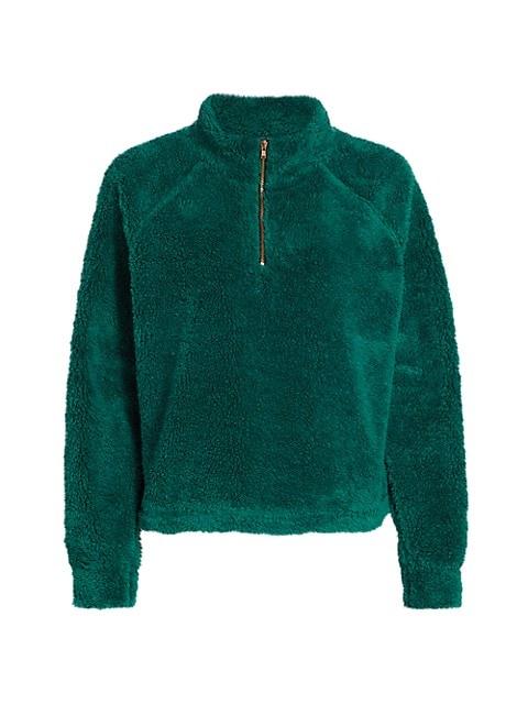 Fleece Vail Boxy Pullover