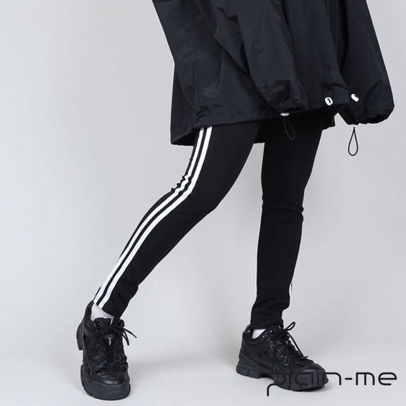 【plain-me】條紋運動褲 PN18AW-052