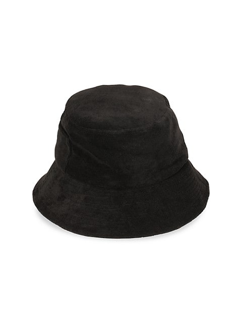 Wave Terry Cloth Bucket Hat