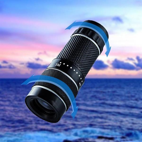 望遠鏡 單筒望遠鏡10倍迷你高清高倍一萬米戶外非紅外線觀景拍照用眼鏡【快速出貨八折搶購】