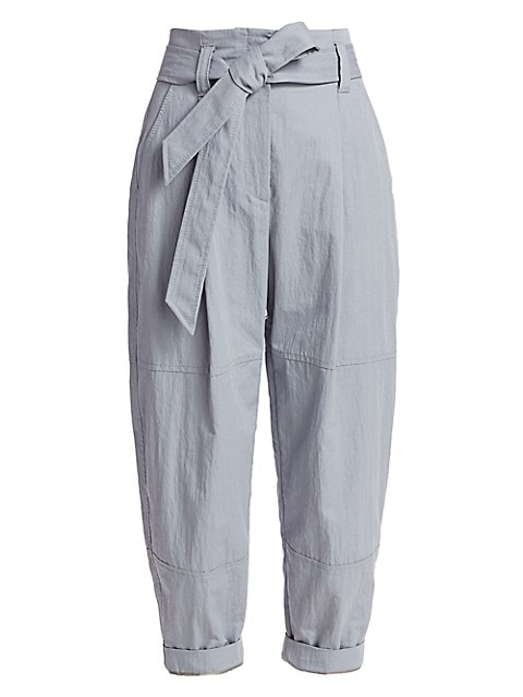 Paperbag Tapered Trousers