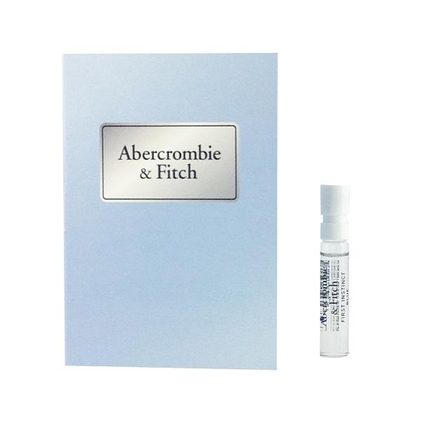 A&F Abercrombie&Fitch 湛藍女性淡香精 針管 2ml【UR8D】