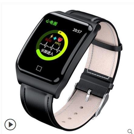 心電圖智慧手環男監測儀多功能運動手錶式健康老年人測高器 交換禮物 雙十二購物節