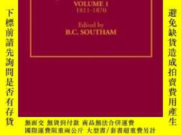 二手書博民逛書店Jane罕見Austen: The Critical Heritage: 1811-1870 (the Colle