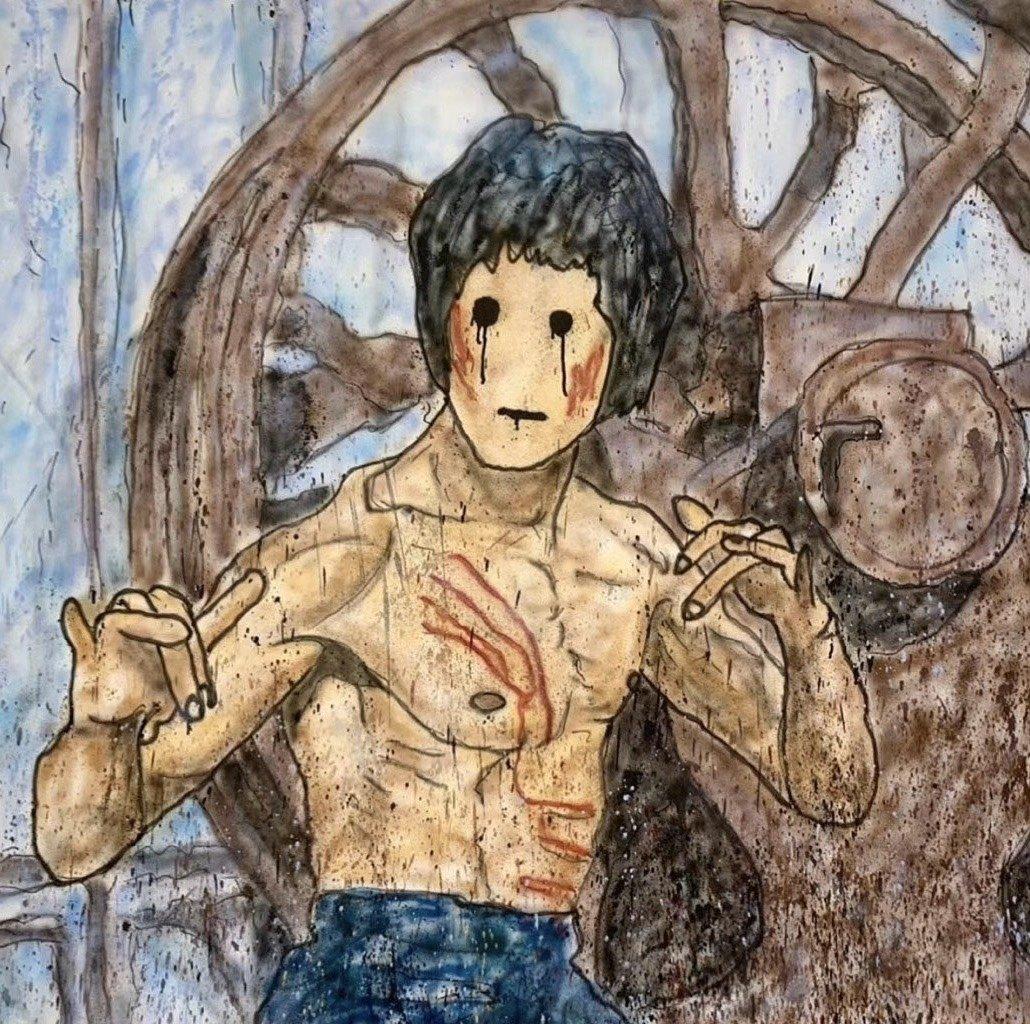 Madsaki Bruce Lee 李小龍 限量 版畫