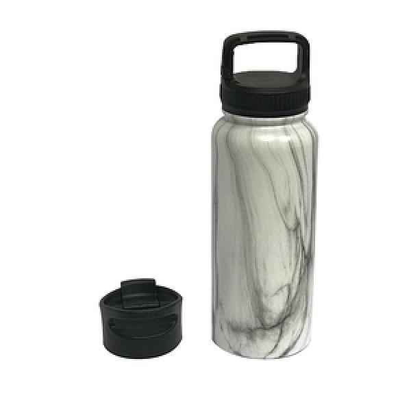 HOLA 納森雙功能手提保溫瓶750ml-石紋