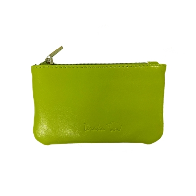 DRAKA 達卡 - 真皮M系列-鑰匙零錢包-綠