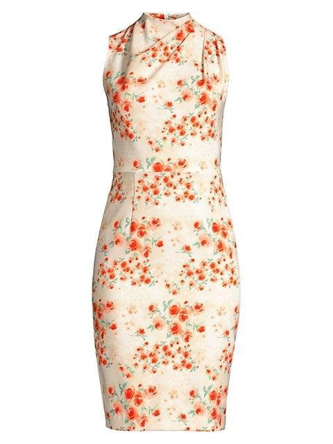 Corrine Floral Sheath Dress