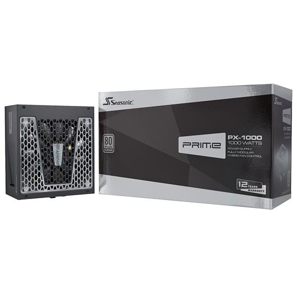 Seasonic 海韻 PRIME PX-1000 白金 全模組 電源供應器(SSR-1000PD) [富廉網]