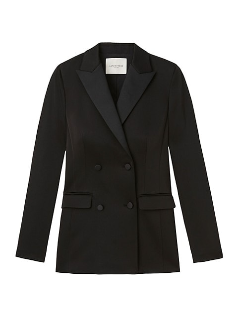 Holton Double-Breasted Blazer