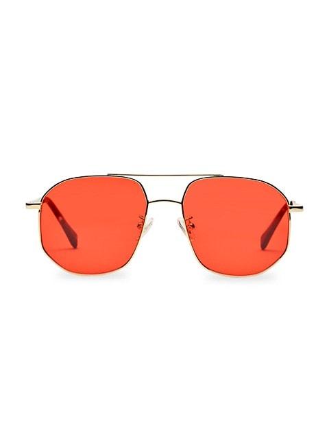 The Dude 55MM Aviator Sunglasses