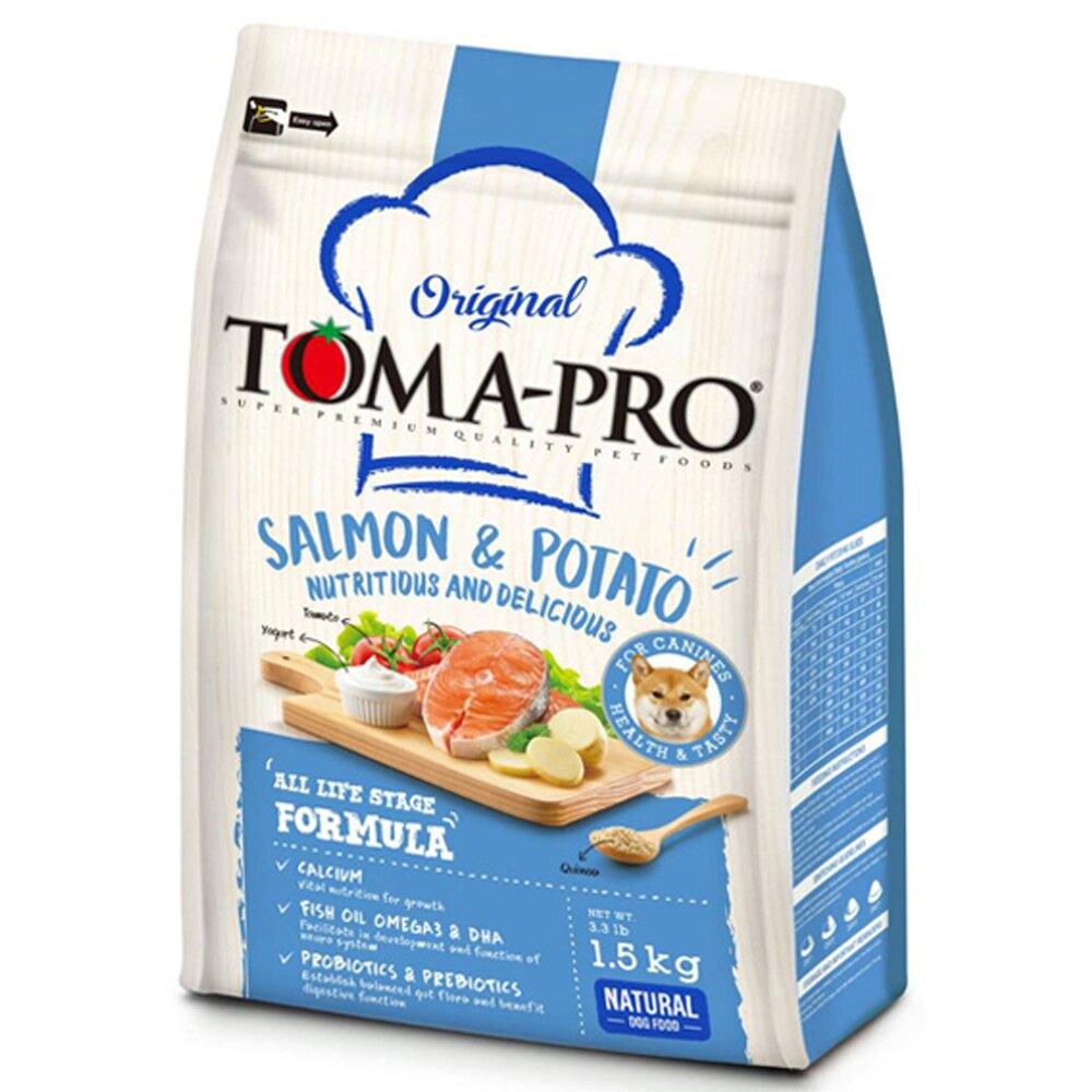 優格 TOMA-PRO  成幼犬 敏感膚質配方 鮭魚+馬鈴薯 1.5kg