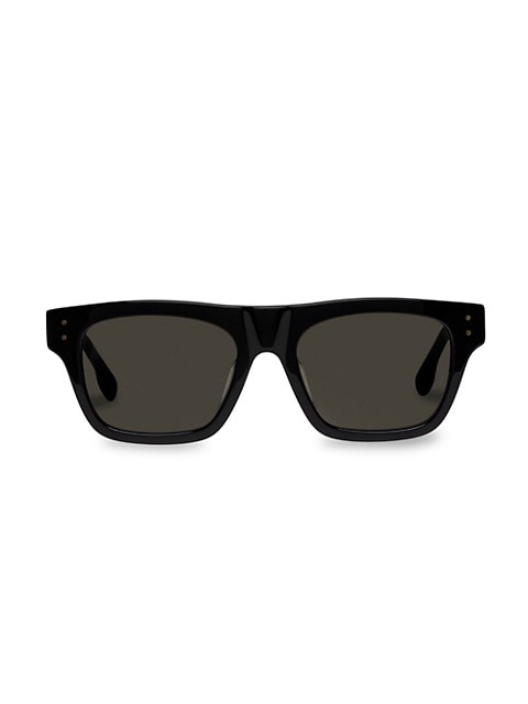 Motif 52MM Modern Rectangle Sunglasses