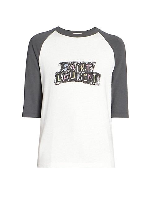 Logo Raglan T-Shirt