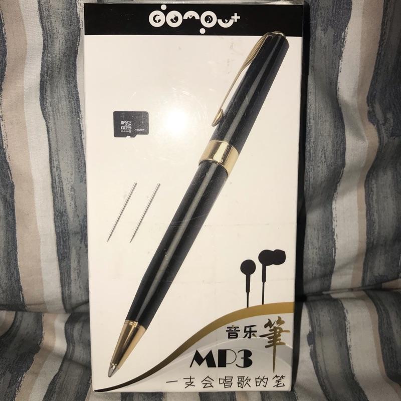 全新 台灣現貨 MP3音樂筆 附8g隨身碟內存抖音音樂 三合一Mp3播放器 赠送3支筆芯 含自身裡面的一隻筆芯喔 實拍