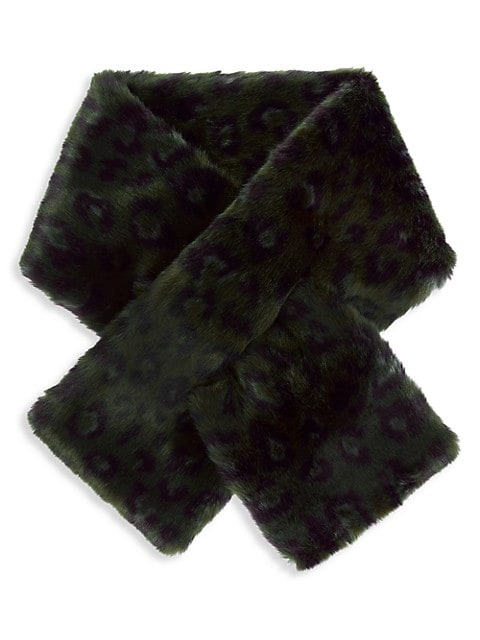 Clara Faux-Fur Pull-Through Scarf