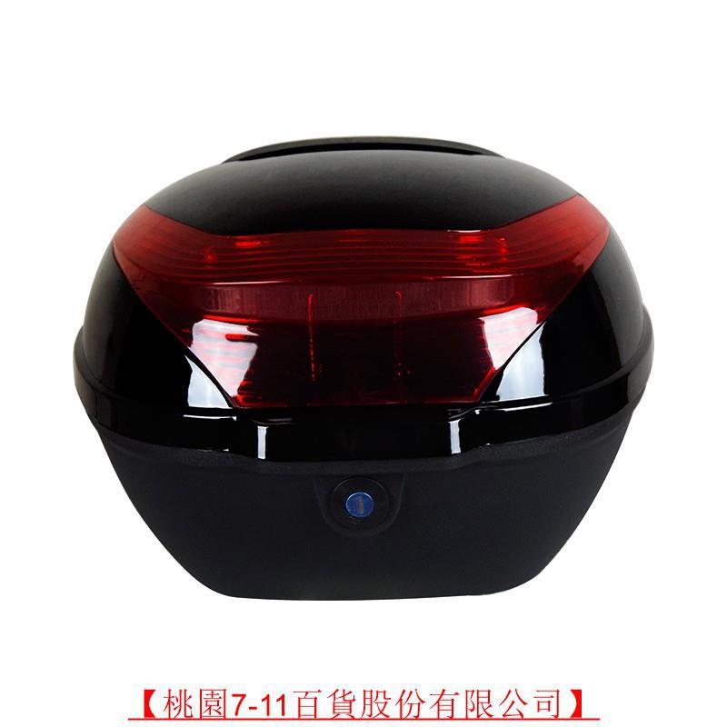 【桃園7-11】GIVIte摩托車后備箱通用特大號電動車后尾箱加厚電瓶踏板車儲物箱