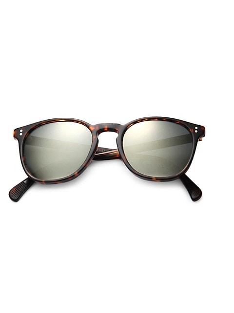 Finley Esq 51MM Round Sunglasses