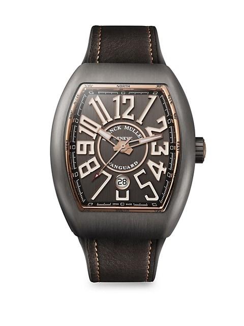 Vanguard Titanium & Rose Gold Watch