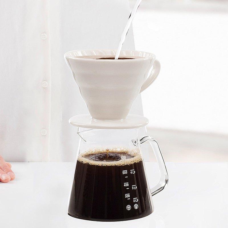 荷蘭PRINCESS 手沖咖啡組 (濾杯+咖啡壺)