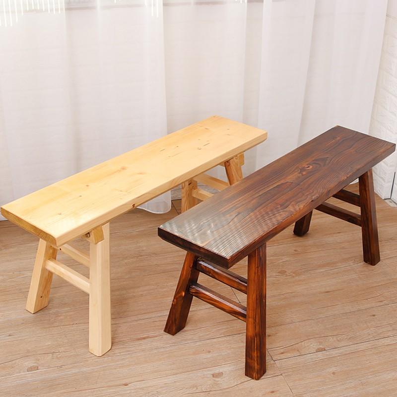 〖愛繽紛百貨〗防腐木板凳實木長凳長方形凳木頭長條凳木質中式木凳子家用換鞋凳