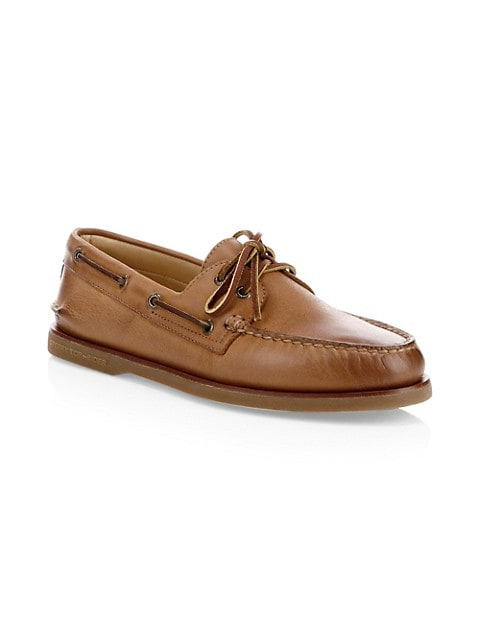 Gold Cup Authentic Original Burnished Leather Boat Shoes