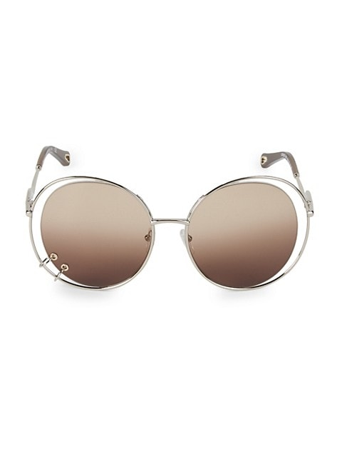 Wendy 59MM Round Sunglasses