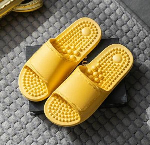 按摩鞋 拖鞋女夏季居家用室内情侣一对浴室洗澡足底穴位按摩防滑凉拖鞋男【快速出貨八折下殺】