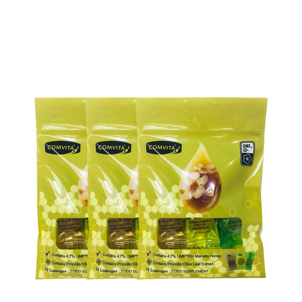 麥蘆卡蜂蜜潤喉糖(綜合味)-買2送1