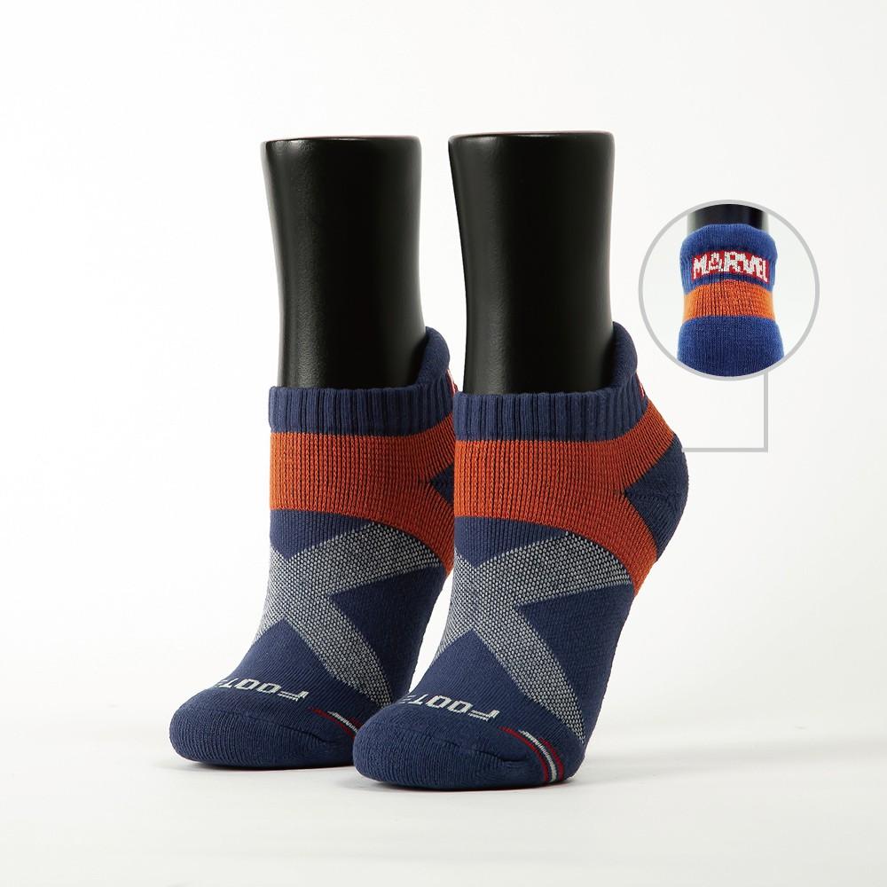 Footer。MARVEL.輕壓力襪經典LOGO款 (女款- MR-05M) 除臭襪 運動襪 健康襪 女襪