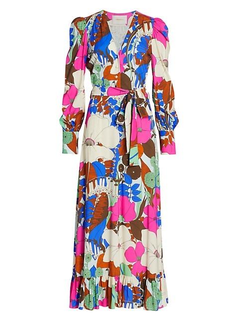 Super Smokin' Hot Long Floral Dress