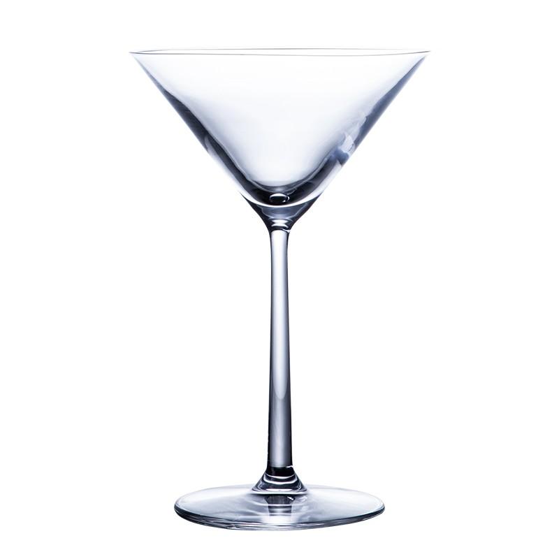 現貨酒吧先生進口水晶玻璃杯三角雞尾酒杯馬天尼杯高腳杯香檳杯調酒杯