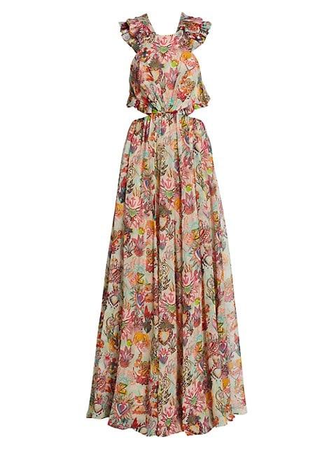 Lovestruck Ruffle Maxi Dress