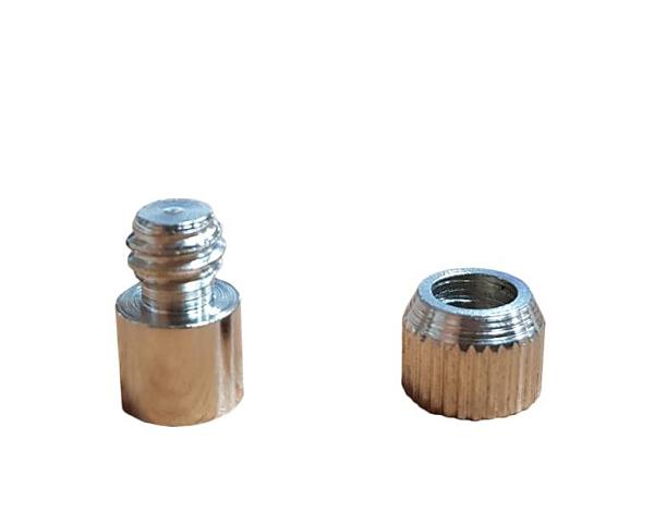 銅珠 銅栓 層板架 層板粒 層板釘 電白 公牙 母牙 銀色(一包50顆)