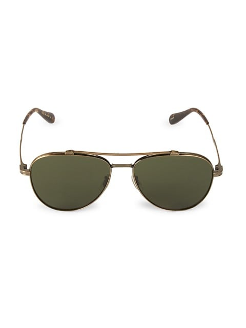 Rikson 56MM Aviator Sunglasses