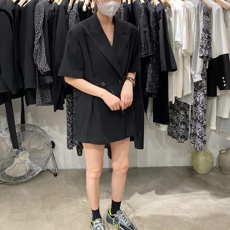 |韓國連線新品短袖西裝外套