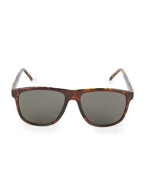 56MM Rectangular Sunglasses