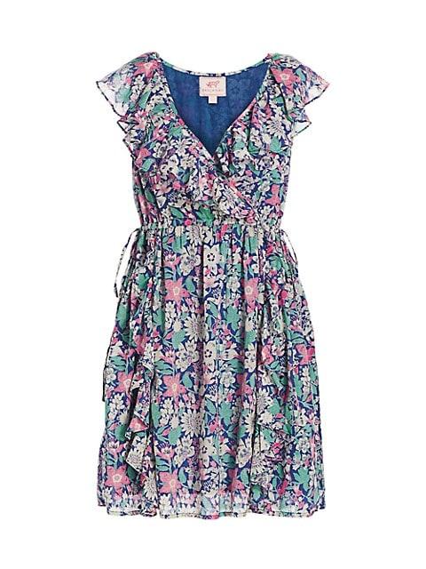 Sylvie Floral Ruffled Dress